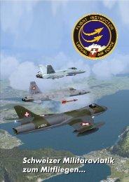 Schweizer Militäraviatik zum Mitfliegen... Schweizer ... - beim vFIT!