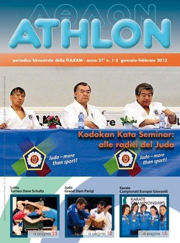 Athlon n. 1/2 2012 - Fijlkam