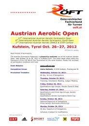 Austrian Aerobic Open