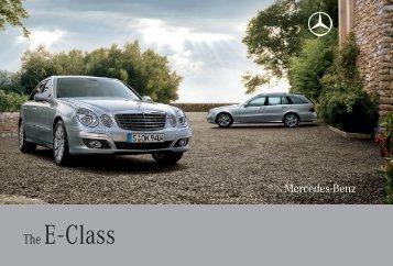 Download E-Class catalogue (PDF) - Mercedes-Benz Brunei