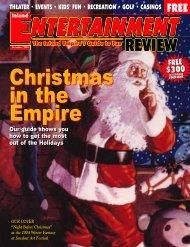 December, 2004 - Inland Entertainment Review Magazine