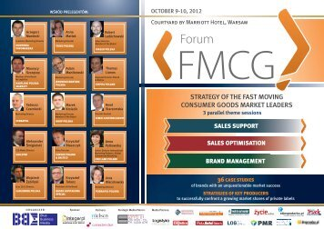 STRATEGY OF THE FAST MOVING CONSUMER GOODS MARKET LEADERS - Blue ...
