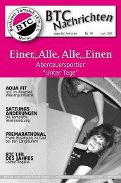 """Abenteuersportler """"Unter Tage"""" - Baukauer Turnclub in Herne"""