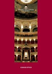 Codice Etico stampa.pdf - Teatro dell'Opera