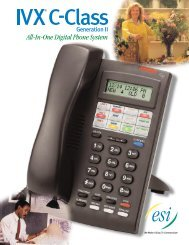 C-Class Brochure (PDF) - Reliant Communications