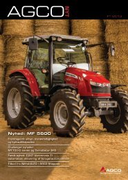 Nyhed: MF 5600 - AGCO Danmark A/S
