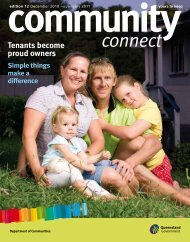 Community connect - Department of Communities, Child Safety and ...
