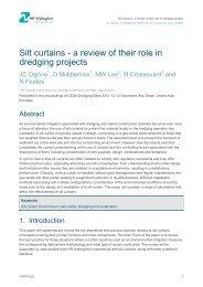 Silt curtains - ePrints at HR Wallingford