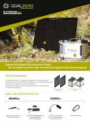 Produktbeschreibung Extreme Serie - Solarbag-Shop