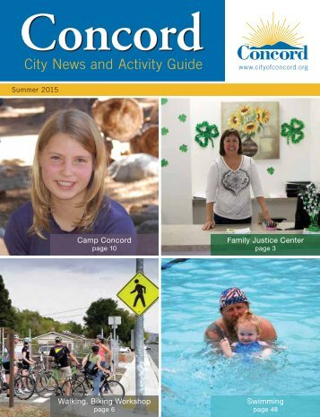 City News and Activity Guide City News and ... - City of Concord