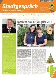 Igelfest am 17. August 2013 - Wohnbau Prenzlau
