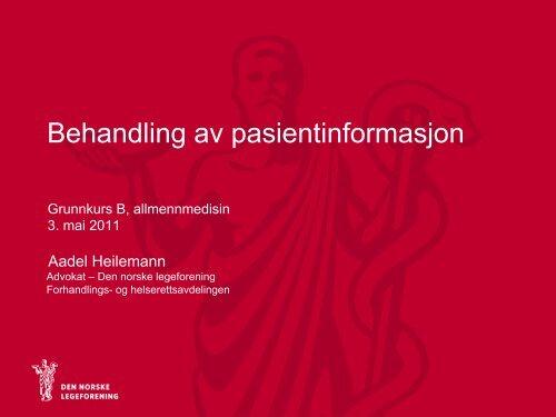 A Heilemann Hndtering av pasientinformasjon_uk