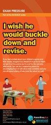 Exam pressure - Cornwall Healthy Schools