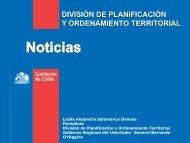 división de planificación y ordenamiento territorial - Subdere
