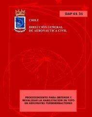 DAP 01 31 - Dirección General de Aeronáutica Civil