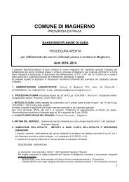 BANDO DISCIPLINARE GARA CIMITERO MAGHERNOdoc