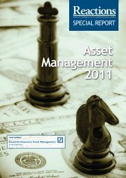 Asset Management 2011 - Reactions