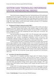 Sistem dan Teknologi Informasi pada LKM dan Perbankan