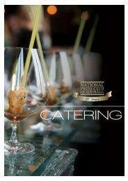 Catering Menus - National Press Club