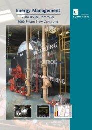Energy management 2704 Boiler Controller - Eurotherm Ltda