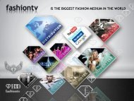 is the biggest fashion medium in the world - FashionTV Corporate ...