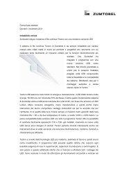 Comunicato stampa Dornbirn, novembre 2011 Imbattibile varietà ...