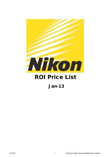 Nikon body case kit CB-N2000SF 1