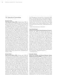 10. Executive Committee - Nobel Biocare Annual Report 2010