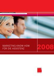 MARKETING-KNOW-HOW FÜR DIE ASSISTENZ