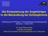Theorie und Praxis der Psychoedukation - PTK Bayern