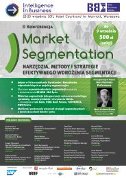 Market Segmentation 2011 WEB.cdr - Blue Business Media