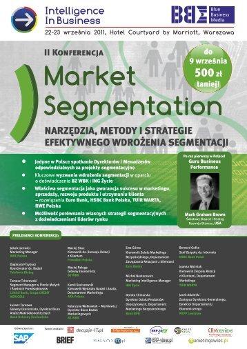 Market Segmentation 2011 WEB.cdr - Blue Business Media