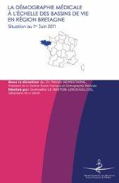 Atlas 2011 de la région Bretagne - Conseil National de l'Ordre des ...