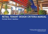 RETAIL TENANT DESIGN CRITERIA MANUAL - Brookfield Properties