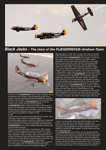 Black Jacks - The story of the FLiEGERREVUE-Airshow-Team