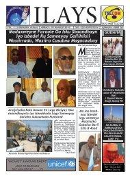 Madaxweyne Faroole Oo Isku Shaandhayn iyo ... - SomaliTalk.com