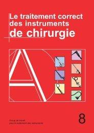 Le traitement correct des instruments - Instrumentarium ...