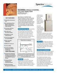 SS2000e SINGLE CHANNEL CO2 GAS ANALYZER - sicamedicion ...