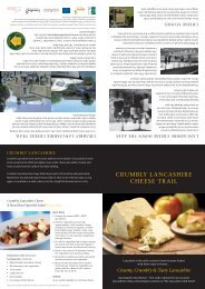 Crumbly Lancashire Cheese Trail in PDF format - Forest of Bowland