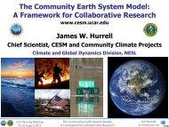 Hurrell - Climate Prediction Center