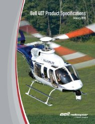 407 Product Spec Rev 1 June.indd - Prairie Helicopters Inc.