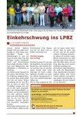 Bewohner on Tour - LPBZ Christkindl - Seite 5
