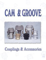cam & groove non-priced 2001 - International Belt and Rubber Supply
