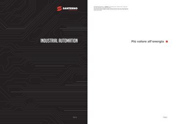 Catalogue Industrial Automation 2013 IT - Santerno