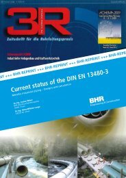 Current status of the DIN EN 13480-3 - Bhr - Bilfinger