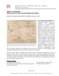 Matisse as Printmaker - American Federation of Arts