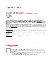 Tempel – Les 3 Lezen uit de bijbel Openbaring 3:10 ... - Bijbelverhalen