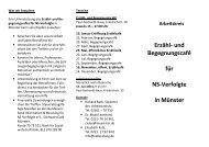 Flyer_MS_ Mai 2011 - Bundesverband Information und Beratung für ...