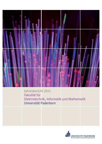 Jahresbericht 2011 Fakultät für Elektrotechnik, Informatik und ...