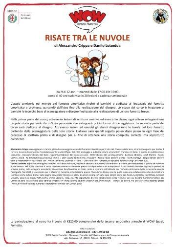 RISATE TRA LE NUVOLE - WOW Spazio Fumetto